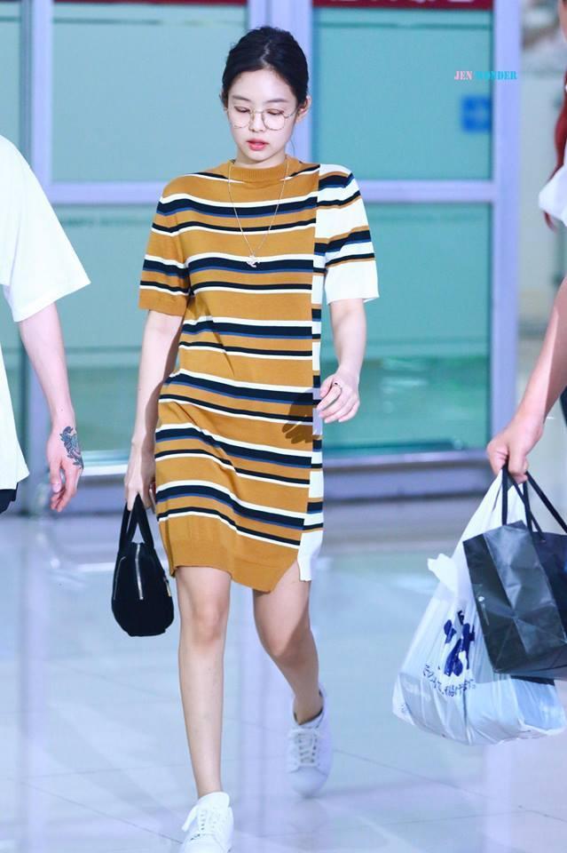 Biến sân bay thành sàn catwalk, Black Pink Jennie khiến cư dân mạng phát cuồng vì quá đẹp-9