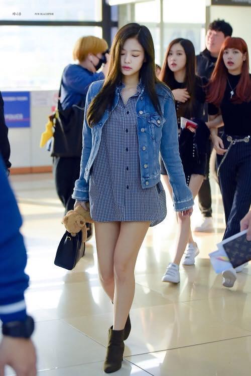 Biến sân bay thành sàn catwalk, Black Pink Jennie khiến cư dân mạng phát cuồng vì quá đẹp-10