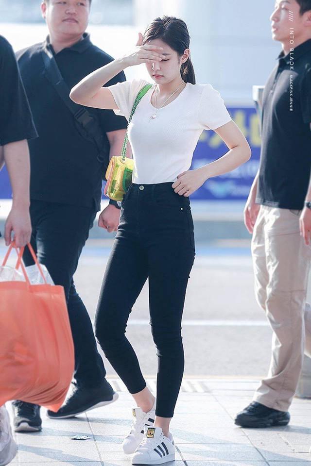 Biến sân bay thành sàn catwalk, Black Pink Jennie khiến cư dân mạng phát cuồng vì quá đẹp-7
