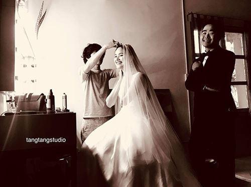 Cô dâu Tuyết Lan trao nụ hôn ngọt ngào thay ngàn lời yêu thương dành cho người đàn ông của đời mình-3