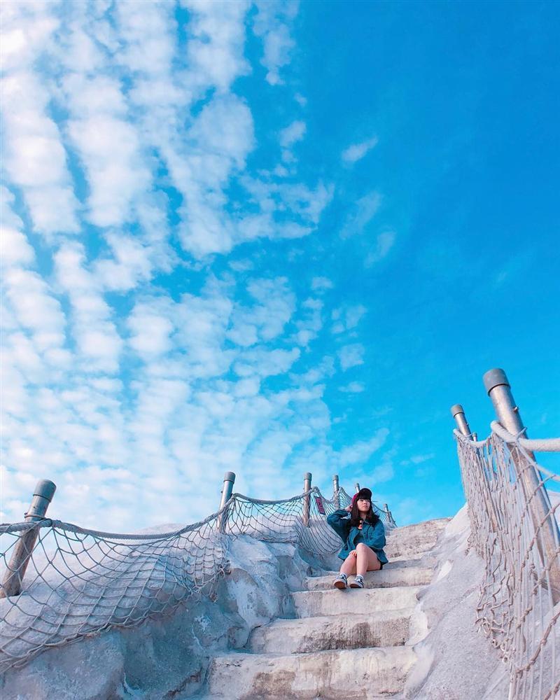 Chinh phục núi muối Thất Cổ trắng như tuyết ở Đài Loan-5