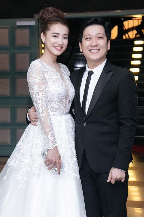 Trước Nhã Phương, nhiều mỹ nhân Việt cũng bị nghi cưới chạy bầu khi mặc áo cô dâu mà bụng lùm lùm-1