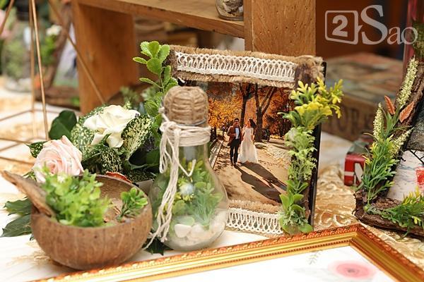 Khung cảnh ngập tràn hoa trong đám cưới của Tuyết Lan-5