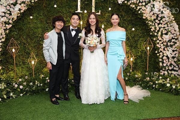 Người mẫu đình đám một thời Bảo Hòa đến chúc mừng Tuyết Lan-2