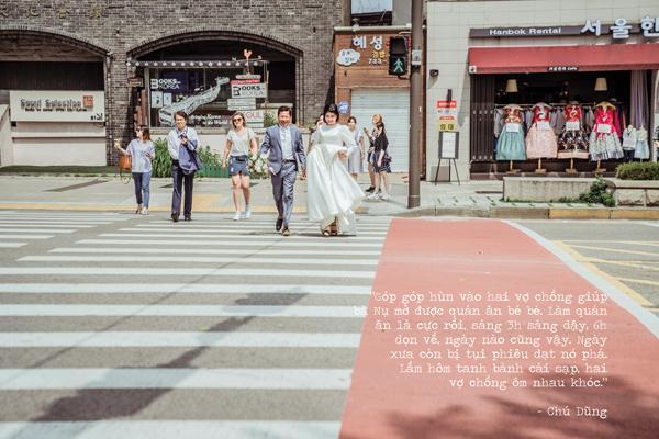 Sau gần 30 năm, thương vợ, chú xe ôm dốc hết tiền đưa vợ qua Hàn Quốc chụp ảnh cưới-3