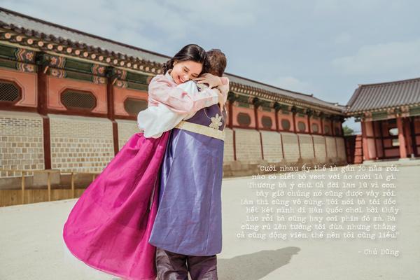 Sau gần 30 năm, thương vợ, chú xe ôm dốc hết tiền đưa vợ qua Hàn Quốc chụp ảnh cưới-1