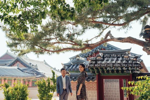 Sau gần 30 năm, thương vợ, chú xe ôm dốc hết tiền đưa vợ qua Hàn Quốc chụp ảnh cưới-7