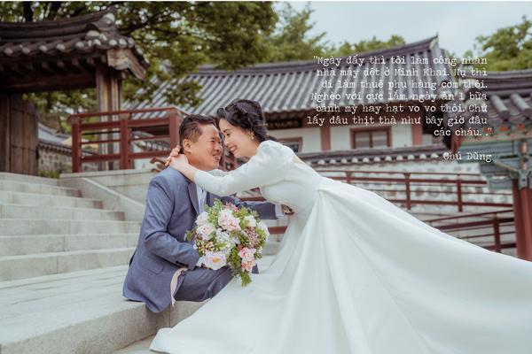 Sau gần 30 năm, thương vợ, chú xe ôm dốc hết tiền đưa vợ qua Hàn Quốc chụp ảnh cưới-9