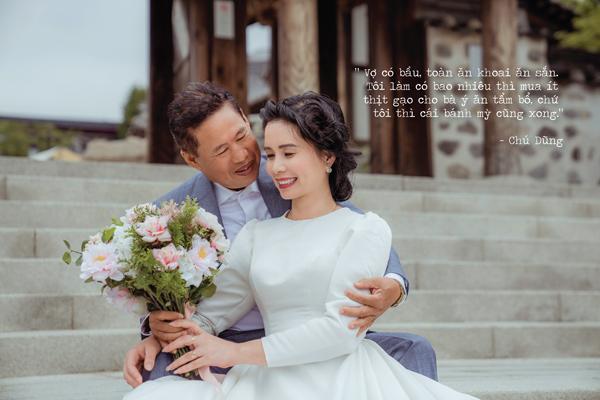 Sau gần 30 năm, thương vợ, chú xe ôm dốc hết tiền đưa vợ qua Hàn Quốc chụp ảnh cưới-10