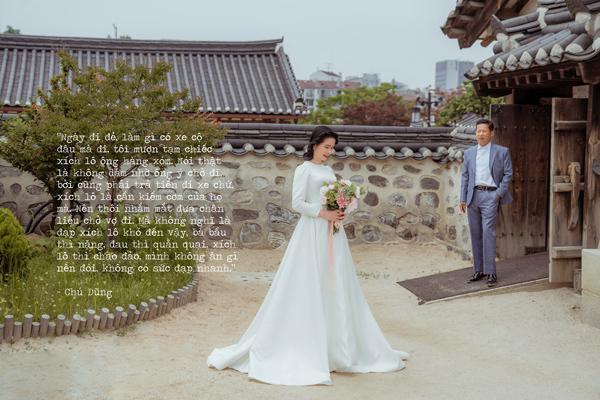 Sau gần 30 năm, thương vợ, chú xe ôm dốc hết tiền đưa vợ qua Hàn Quốc chụp ảnh cưới-11