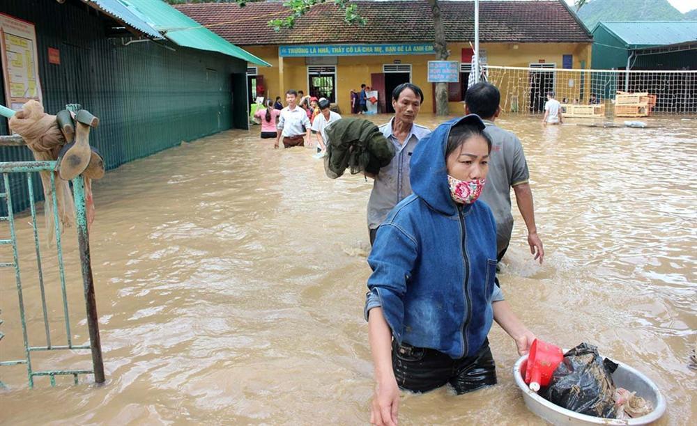 Nghệ An: Lũ chồng lũ, nhiều nơi vẫn ngập trong biển nước-5