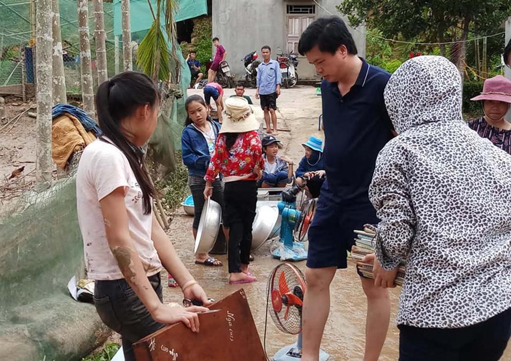 Nghệ An: Lũ chồng lũ, nhiều nơi vẫn ngập trong biển nước-8