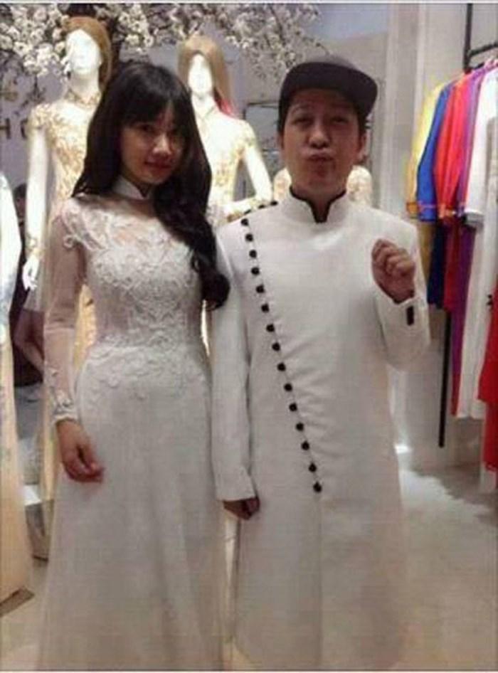 Lộ ảnh Nhã Phương thử áo cưới, chuẩn bị cùng Trường Giang về chung nhà?-1