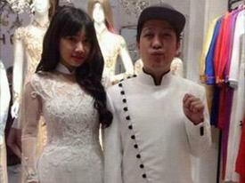 Lộ ảnh Nhã Phương thử áo cưới, chuẩn bị cùng Trường Giang về chung nhà?