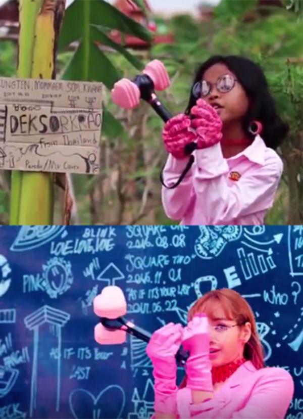 Phát sốt với Black Pink phiên bản làng quê, cover Ddu- Du Ddu-Du thần thái không chệch một nhịp-5