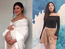 2 tháng sau sinh, Chúng Huyền Thanh 'đánh bay' 16kg mỡ thừa