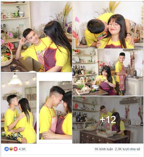 Bị nghi ngờ tình tứ chỉ vì hám fame, nữ sinh Hải Dương ngực 110cm và bạn trai khẳng định yêu nhau thật lòng-1