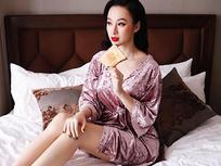Angela Phương Trinh ra Hà Nội chỉ để ăn bữa trưa ngay trên giường