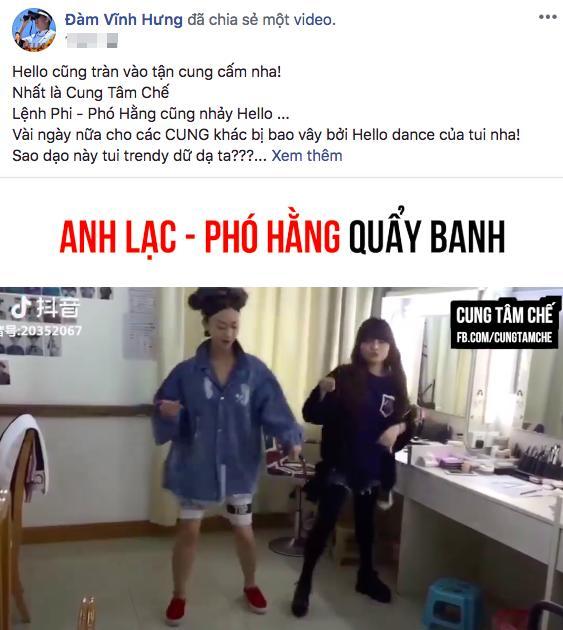 Anh Lạc, Phó Hằng của Diên hi công lược quẩy cực sung trên nền nhạc Vpop-4