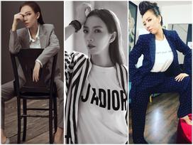 Từ sau khi phẫu thuật thẩm mỹ, 'hoa hậu hài' Thu Trang ngày càng 'men' mới lạ
