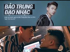 Trong phim mới, Isaac nổi điên dọa đánh Lâm Vinh Hải vì bị tố đạo nhạc