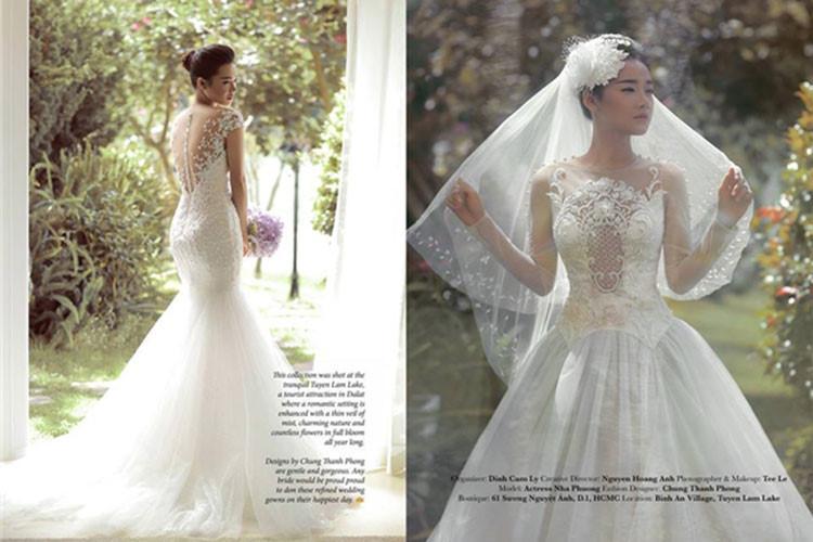 Ngắm Nhã Phương đẹp quên lối về trong những bộ váy cưới trước ngày theo Trường Giang về dinh-4