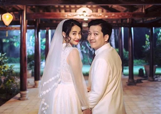 Ngắm Nhã Phương đẹp quên lối về trong những bộ váy cưới trước ngày theo Trường Giang về dinh-2