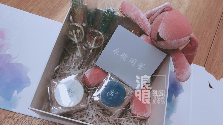 Lý Mạc Sầu Trương Hinh Dư tiết lộ địa điểm, thời gian đám cưới và cả hộp quà tặng khách tinh tế dễ thương-5