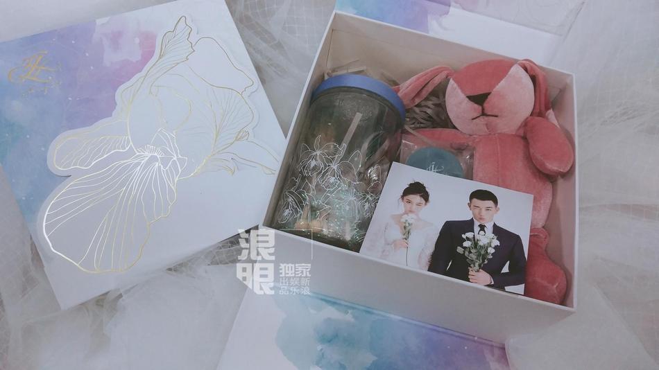 Lý Mạc Sầu Trương Hinh Dư tiết lộ địa điểm, thời gian đám cưới và cả hộp quà tặng khách tinh tế dễ thương-6