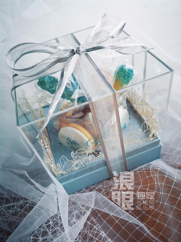 Lý Mạc Sầu Trương Hinh Dư tiết lộ địa điểm, thời gian đám cưới và cả hộp quà tặng khách tinh tế dễ thương-3