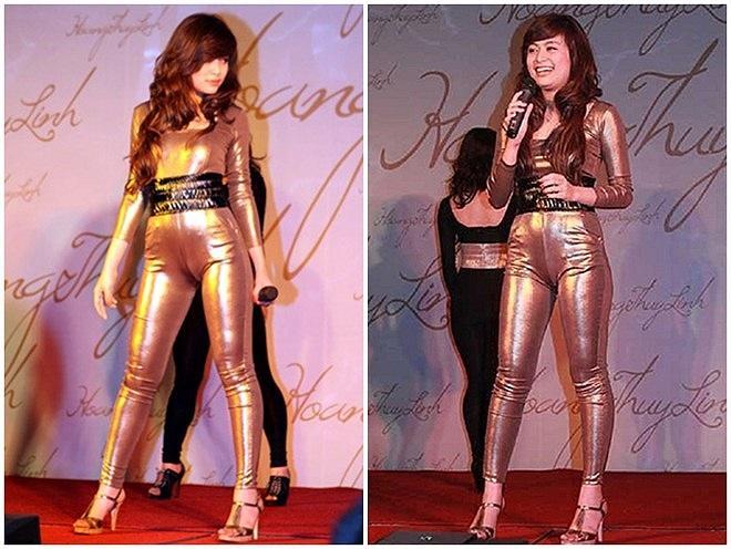 Sở hữu thân hình vệ nữ nhưng Hà Hồ, Ngọc Trinh lại thường xuyên bị váy áo tố giác vòng 2 như mang bầu-12