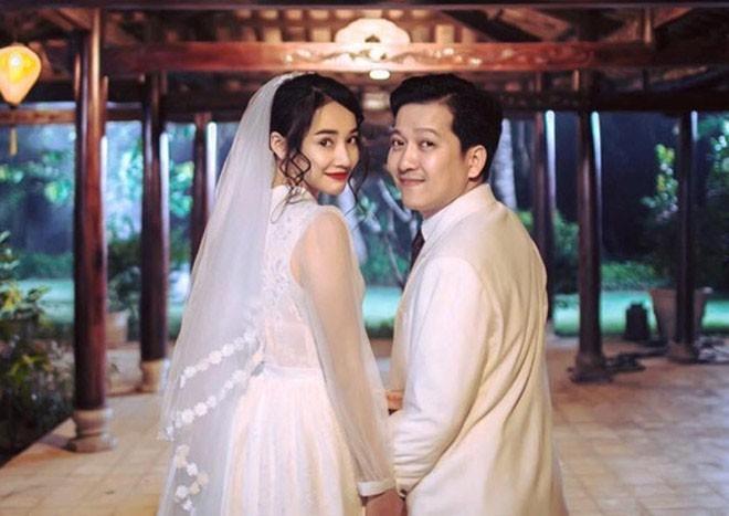 Tin vui showbiz liên tiếp nổ: Sau Nhã Phương - Trường Giang, đám cưới đình đám thuộc về Lan Khuê - Tuấn John-1