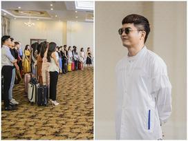 Ngay buổi tập trung đầu tiên, Nam Trung đã 'dằn mặt' thí sinh The Face 2018 khi bị nghi ngờ dàn xếp kết quả