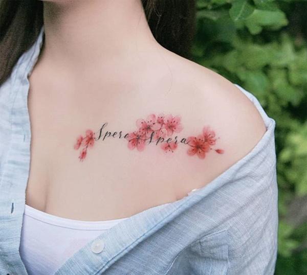 Phụ nữ Hàn đem cả vườn hoa lá lên ngực, đùi, hông...-6
