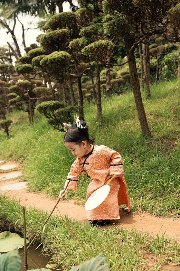 Nhóc tì người Việt hóa cung nữ Nguỵ Anh Lạc khiến dân tình mê mệt vì quá đáng yêu-4