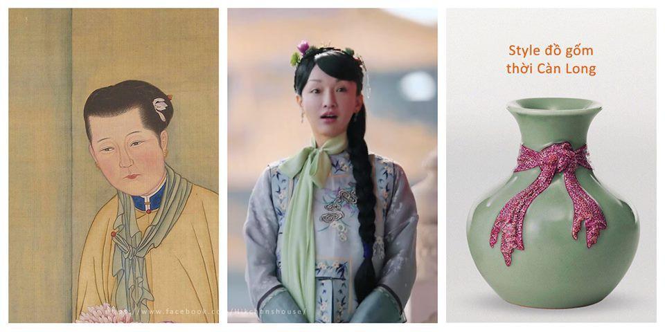 Loạt ảnh lịch sử giải oan cho thời trang thảm họa của Châu Tấn trong Hậu cung Như Ý Truyện-4