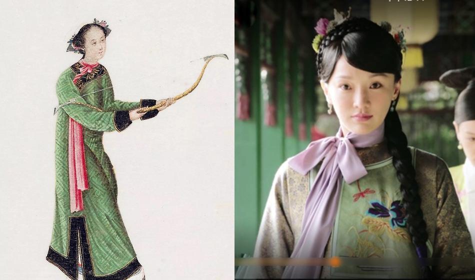 Loạt ảnh lịch sử giải oan cho thời trang thảm họa của Châu Tấn trong Hậu cung Như Ý Truyện-6