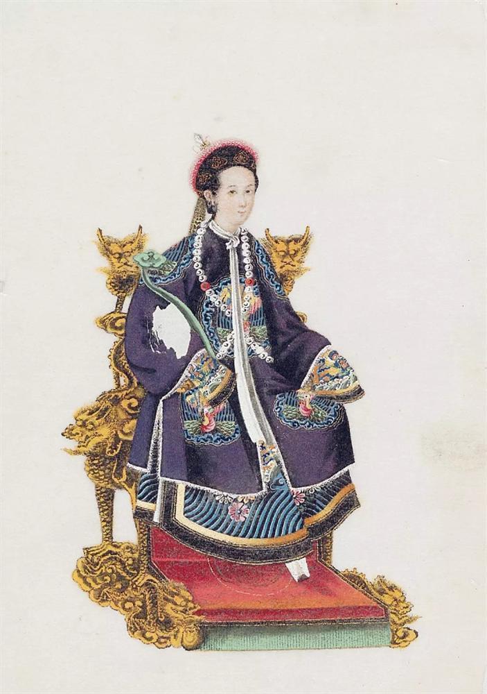 Loạt ảnh lịch sử giải oan cho thời trang thảm họa của Châu Tấn trong Hậu cung Như Ý Truyện-13