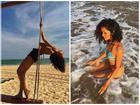 Tiễn hè, H'Hen Niê tung loạt ảnh tóc dài diện bikini nóng bỏng từng khiến Mai Phương Thúy ghen tỵ vì quá đẹp