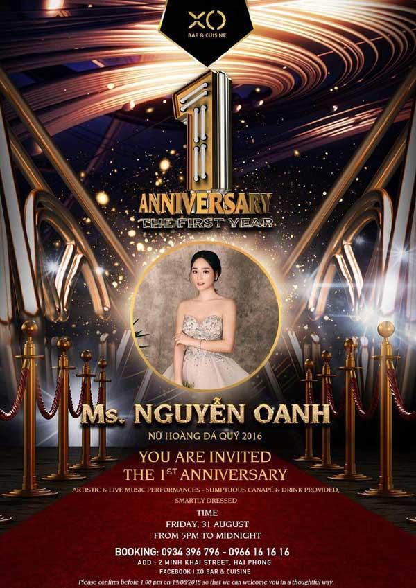 Dàn sao dự XO Bar & Cuisine Anniversary 1 Year-5