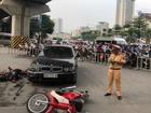 Nữ tài xế BMW gây tai nạn liên hoàn do... giày cao gót