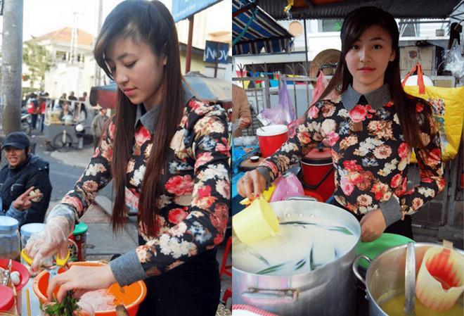 Hot girl bánh tráng trộn nổi tiếng ở Đà Lạt giờ ra sao?-1
