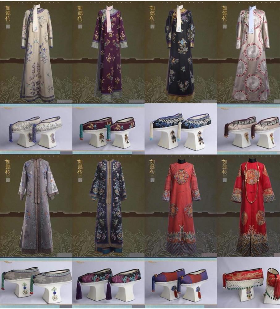 Loạt ảnh lịch sử giải oan cho thời trang thảm họa của Châu Tấn trong Hậu cung Như Ý Truyện-16