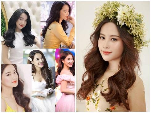 Nhã Phương, Nam Em cạnh tranh ngôi vị nữ thần với kiểu tóc đẹp