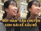 Hài hước clip con gái kể xấu bố: 'Bữa nào con cũng ăn cơm chan với nước mắt'