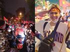 Đêm 'bão lớn' của fan bóng đá sau chiến tích lịch sử tuyển Olympic Việt Nam