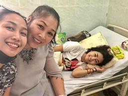 Ốc Thanh Vân tiết lộ tình hình đáng mừng về sức khỏe của Mai Phương khi đang điều trị ung thư phổi