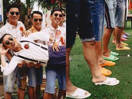 Đi dép tổ ong, diện quần áo thập niên 90: Còn đám cưới nào lầy lội hơn cặp đôi ở An Giang