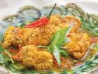 Cách làm trứng cá kho nghệ ớt ấm bụng ngày mưa