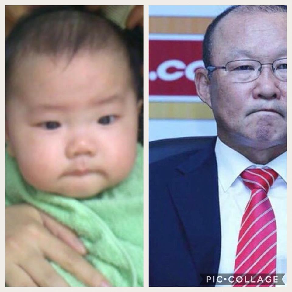Cậu bé hot nhất mạng xã hội Việt hôm qua khi sở hữu loạt biểu cảm cực giống huấn luyện viên Park Hang Seo-3